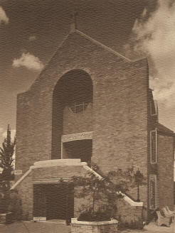 Old photograph of Holy Redeemer